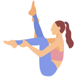 Yoga Pose Icon Of Flat Style Available In Svg Png Eps Ai Icon Fonts
