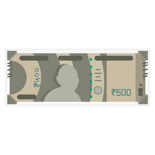 500, Rs, Note, Rupee, Money, New, Currency, India, Rbi