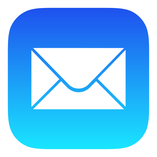 Apple Mail Icon of Flat style - Available in SVG, PNG, EPS, AI ...