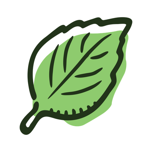 Basil Leaf Icon Of Colored Outline Style Available In Svg Png Eps Ai Icon Fonts