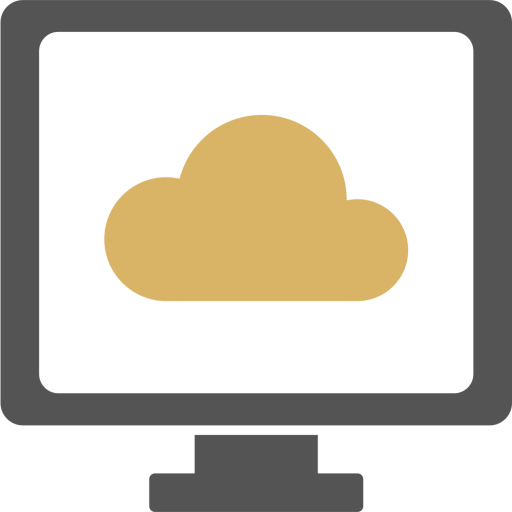 Cloud Icon of Flat style - Available in SVG, PNG, EPS, AI & Icon fonts