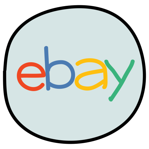 Ebay Logo Icon Of Doodle Style Available In Svg Png Eps Ai Icon Fonts