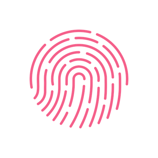 Fingerprint Icon Of Flat Style Available In Svg Png Eps Ai Icon Fonts
