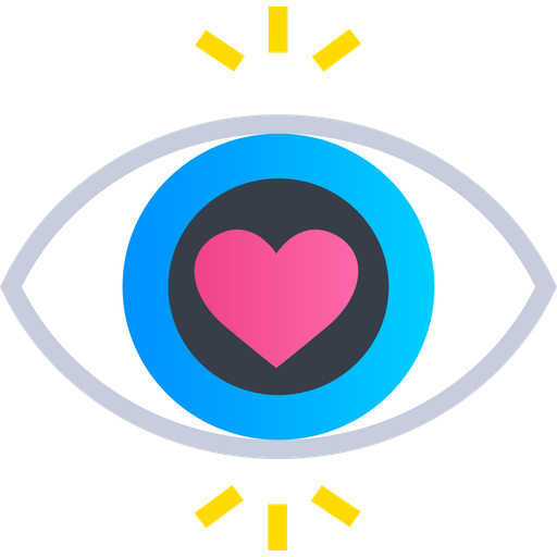 First Sight Love Icon Of Gradient Style Available In Svg Png Eps Ai Icon Fonts