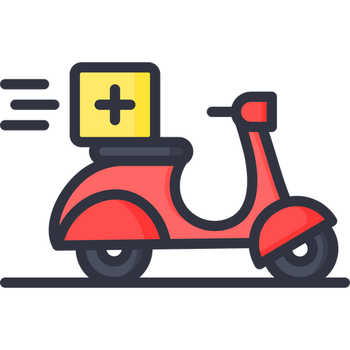 Home Delivery Icon Of Colored Outline Style Available In Svg Png Eps Ai Icon Fonts
