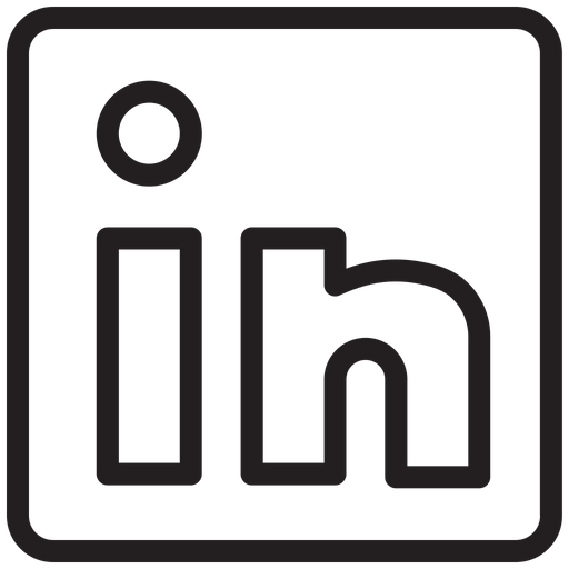 Linkedin Download Free Vector Lineicon