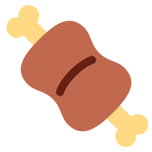 Meat Emoji Icon Of Flat Style Available In Svg Png Eps Ai Icon Fonts