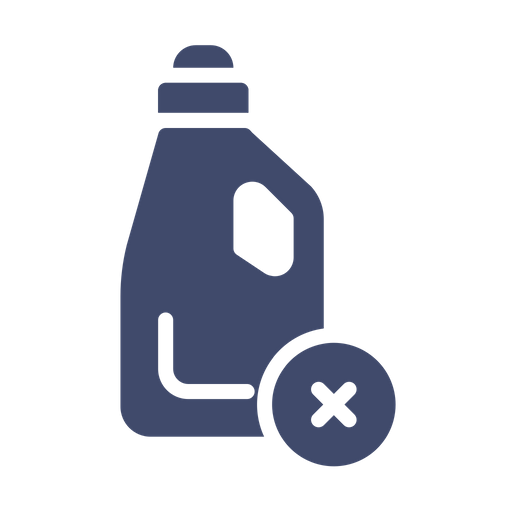 No Liquid Detergent Icon of Glyph style - Available in SVG, PNG, EPS, AI & Icon fonts