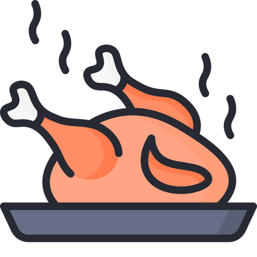Non Veg Food Icon Of Colored Outline Style Available In Svg Png Eps Ai Icon Fonts