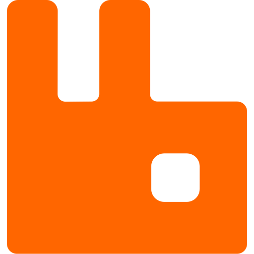 Rabbitmq Logo Icon of Flat style - Available in SVG, PNG