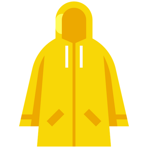 Free Raincoat Flat Icon - Available in SVG, PNG, EPS, AI & Icon fonts