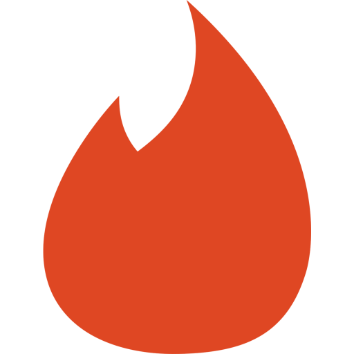 Tinder Logo Icon Of Flat Style Available In Svg Png Eps Ai Icon Fonts