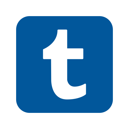 Tumblr Logo Icon of Flat style - Available in SVG, PNG, EPS