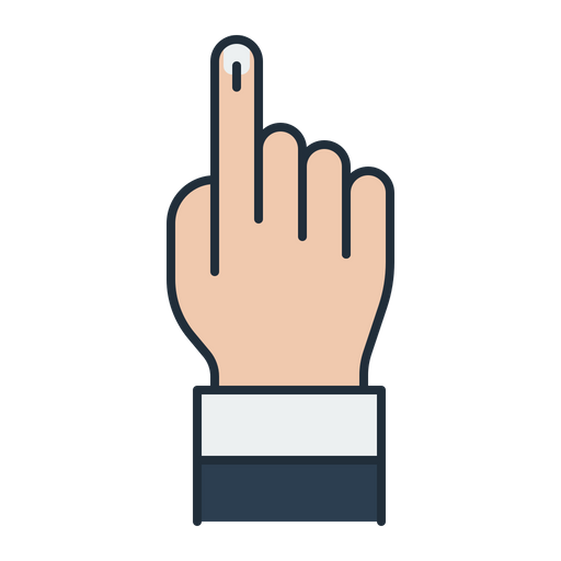 Vote Sign Icon Of Colored Outline Style Available In Svg Png Eps Ai Icon Fonts High quality free icons for web design and development. vote sign icon of colored outline style