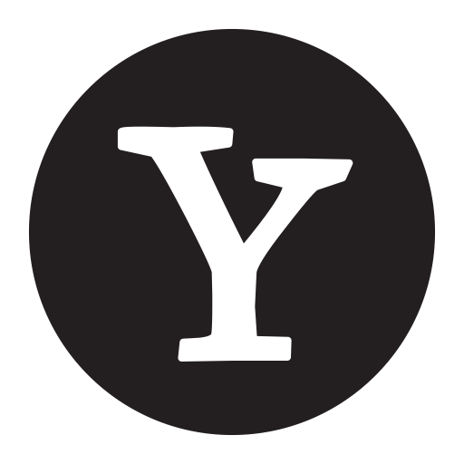 Yahoo Logo Icon Of Glyph Style Available In Svg Png Eps Ai Icon Fonts