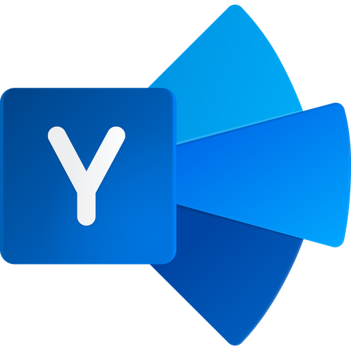 Yammer Icon of Flat style - Available in SVG, PNG, EPS, AI & Icon fonts