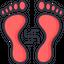Goddess Laxmi Footprint