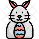 Rabbit Bunny Egg Icon