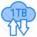 Storage Transfer Cloud Icon