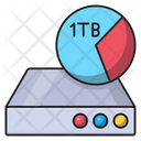 Storage Terabyte Harddisk Icon