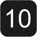 10 number Icon