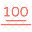100 Emoji 100 Sign 100 Symbol Icon