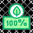 Hundred Percent Emblem Icon