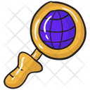Global Research Global Analysis Worldwide Research Icon
