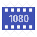 1080 P Movie Size Icon
