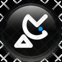 Electronics Satellite Dish Icon