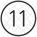 11 Number Icon