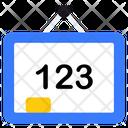 123 Board 123 Learning Basic Education Icon