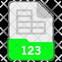123 file Icon