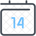 14 Day Quarantine 14 Day Isolation Icon