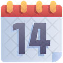 Calendar Days Quarantine Icon