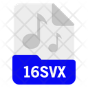 16svx file Icon