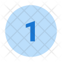 1 Number Icon