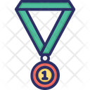 1st Position Medal Place Icon