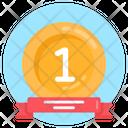 Award 1st Position Reward Icon