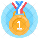 Honor 1st Position Medal Reward Icon