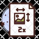 2 X Full Size Image Icon