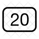 20 Icon