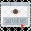 20 Views Icon