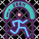200 M Sprint Icon
