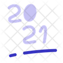 New Year Holiday Icon