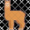 Alpaca Animal Wildlife Icon