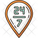24 7 Delivery Icon