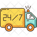 24 7 Hour Delivery Icon