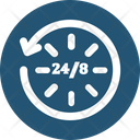 24 7 Service Icon