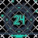 24 H Icon